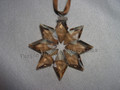 2013 SCS Annual Edition Golden Star / Snowflake Christmas Ornament