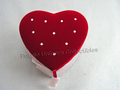 Red Heart Jewelry Trinket Box