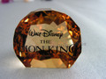 Disney Lion King Title Plaque