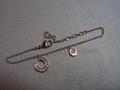 SCS 2014 Horseshoe Charm Bracelet