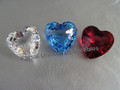 SCS 1996-1998 Renewal Gifts ~ Set of 3 Large Hearts