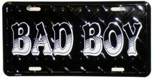 Bad Boy License Plate