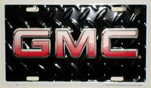 GMC License Plate