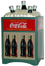Coke Cola Classic Cooler Cookie Jar