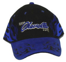 Chevrolet 1970 Chevelle SS 454 Blue & Black Embroidered Cap