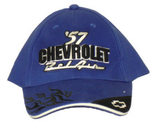 Chevrolet Bellair 1957 Blue Embroidered Cap