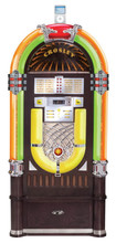 "Full Size ""Bubbler"" Jukebox With AM/FM, iPod Dock & 10 Disk CD Player"