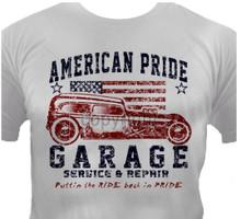 American Pride Garage T-Shirt