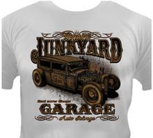 Junkyard Garage Hot Rod T-Shirt