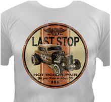 Last Stop Hot Rod Repair T-Shirt