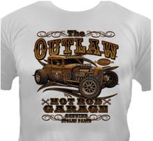 Outlaw Hot Rod Garage T-Shirt