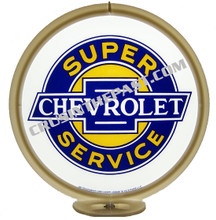 Chevrolet Super Service Gas Pump Globe