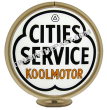 City Services Koolmotor Gasoline Gas Pump Globe
