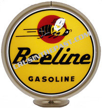 Beeline Gasoline Gas Pump Globe