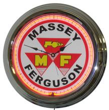 Massey Ferguson Tractor Neon Clock