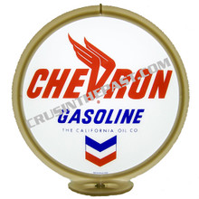 Chevron Gasoline Gas Pump Globe