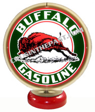 Buffalo Gasoline Gas Pump Globe Desk Lamp