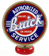 Buick Authorized Service Gas Pump Globe Desk Lamp