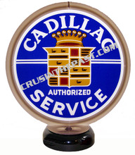 Cadillac Service Gas Pump Globe Desk Lamp