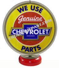 Chevrolet Genuine Parts Gas Pump Globe Desk Lamp