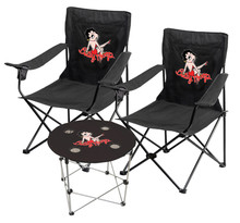 GAS STATION VINTAGE COLLECTIBLES Car Logo Folding Chairs