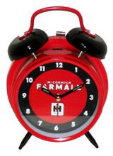 Farmall Tractor Classic Style Twin Bell Alarm Clock