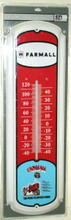 "Farmall Tractor Super Size 27"" Tall Thermometer"