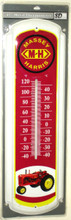 "Massey Harris Tractor Super Size 27"" Tall Thermometer"