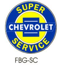 Chevrolet Super Service Floor Graphics