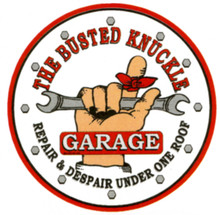 Busted Knuckle Garage Floor Graphics