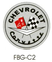 Corvette C2 Grey Floor Graphics