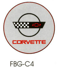 Corvette C4 Grey Floor Graphics