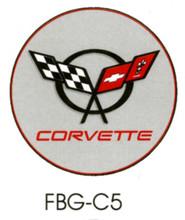 Corvette C5 Grey Floor Graphics