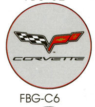 Corvette C6 Grey Floor Graphics