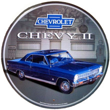 Chevrolet Nova 11 Round Tin Sign