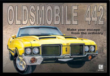 Oldsmobile 442 Tin Sign