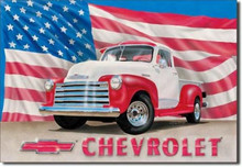 Chevrolet Trucks Classic Tin Sign