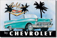 Chevrolet 1957 Bel Air Convertible Tin Sign