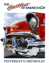 "Chevrolet 1957 ""Heartbeat Of America"" Tin Sign"