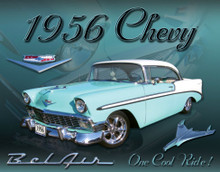 Chevrolet Bel Air 1956 Tin Sign