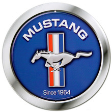 "Ford Mustang ""Since 1964"" Round Tin Sign"