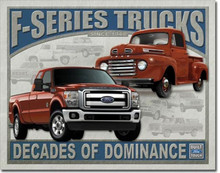 Ford F-Series Trucks Tin Sign