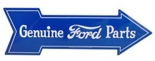 Ford Genuine Parts Arrow Tin Sign