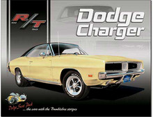 Dodge Charger RT Classic Tin Sign