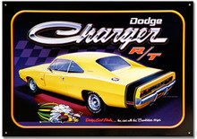 "Dodge Charger RT ""Scat Pack"" Tin Sign"