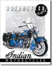 Indian Motorcycle Roadmaster Eighty Tin Sign