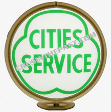 City Service Gasoline Gas Pump Globe
