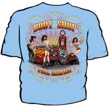 Body Shop Full Service Navy Work Shirt