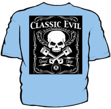 Classic Evil Navy Work Shirt