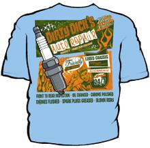 Dirty Dicks Navy Work Shirt